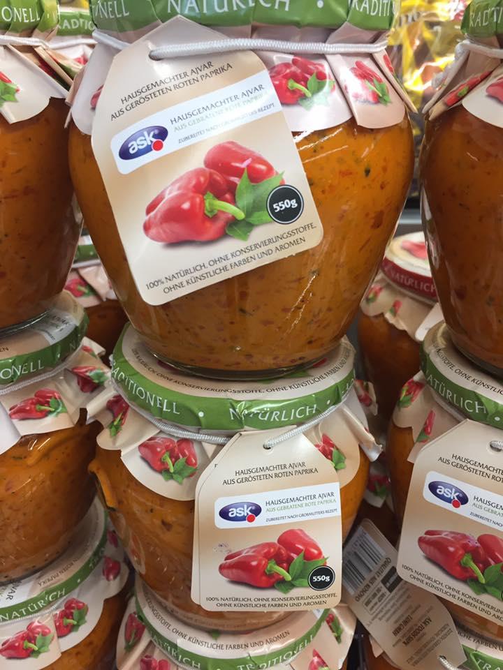Ajvar mild vegan aus dem Kosovo jetzt in der Schweiz erhältlich